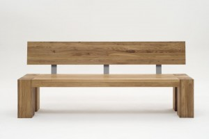 Giant bench with back